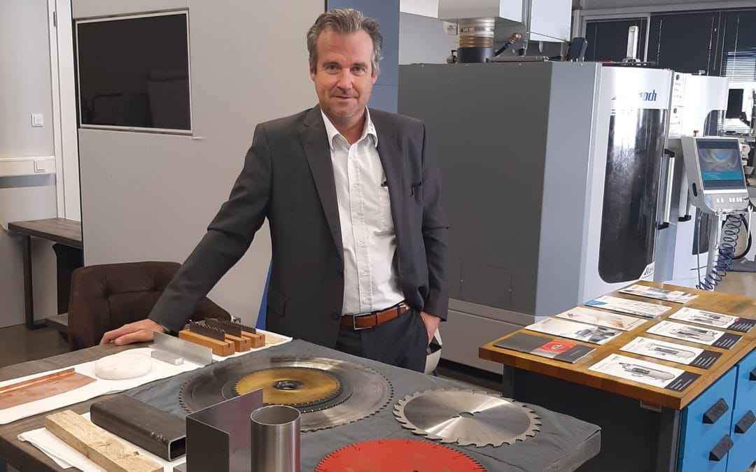 Dirk Thielking – Sales Manager Germany – in joyful anticipation for the internal training of our employees!