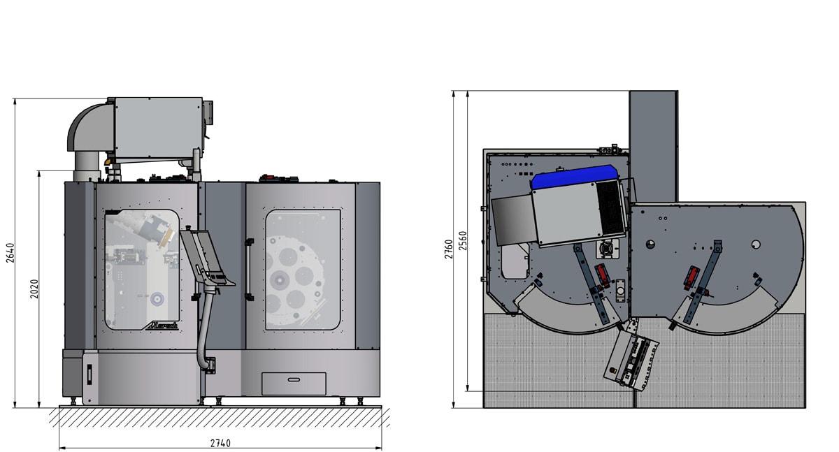 KSC 710-/ dimensions