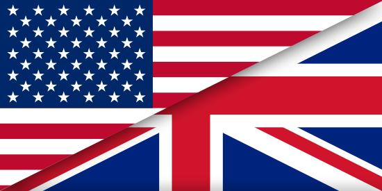 Flagge England / USA