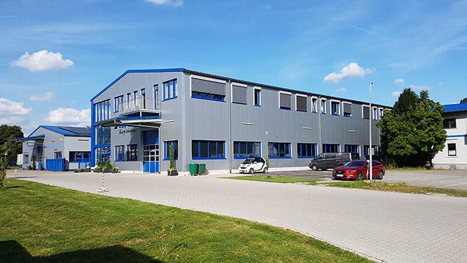 Loroch GmbH Produktionshalle