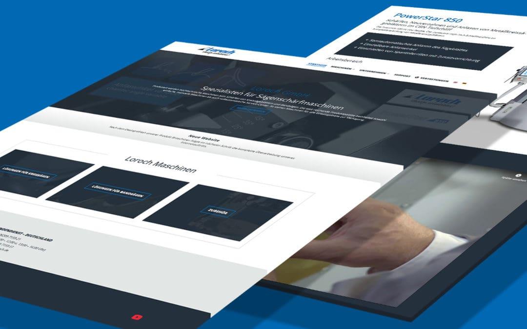 Wir freuen uns sehr, Ihnen unsere neue Webseite vorstellen zu dürfen!