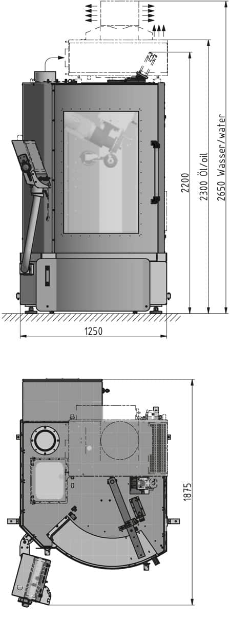 solution K850-T dimensions